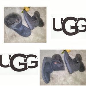 UGG Ankle Boots Gray Shimmer size 5